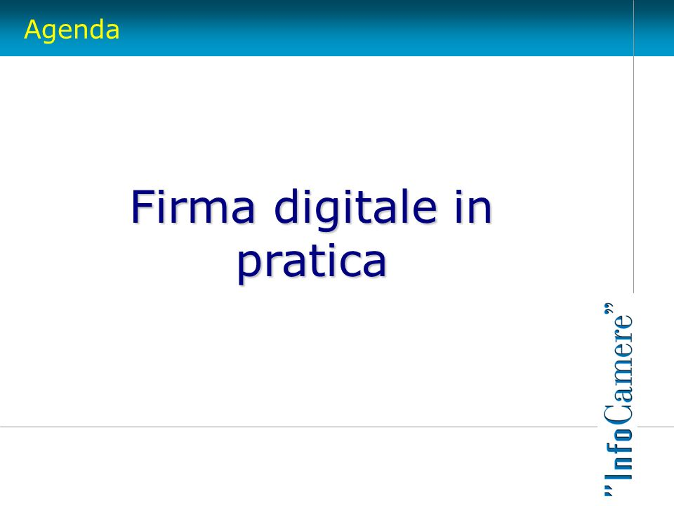 Firma digitale in pratica