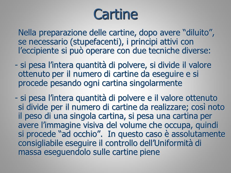 Cartine