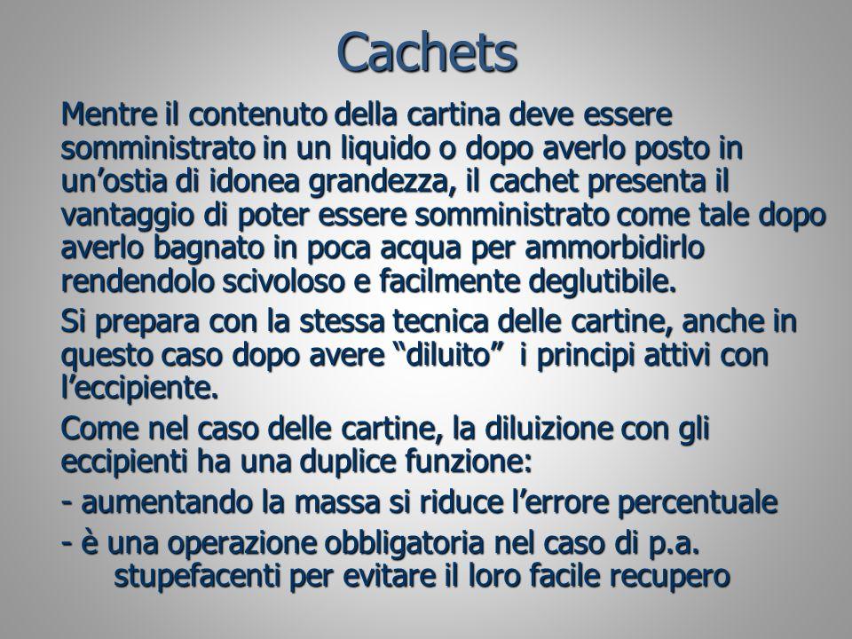 Cachets