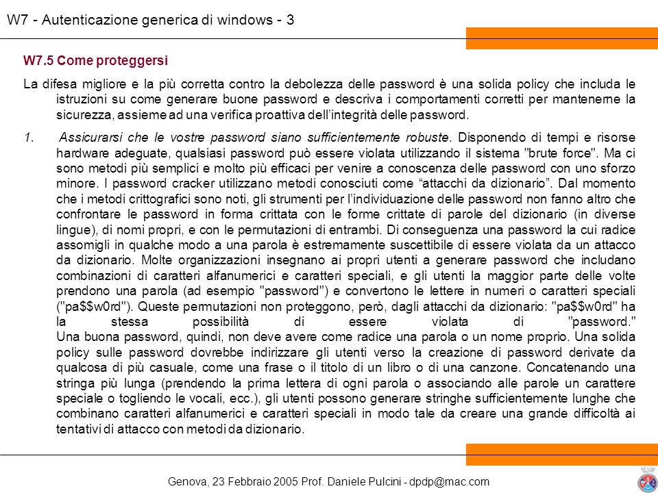 W7 - Autenticazione generica di windows - 3