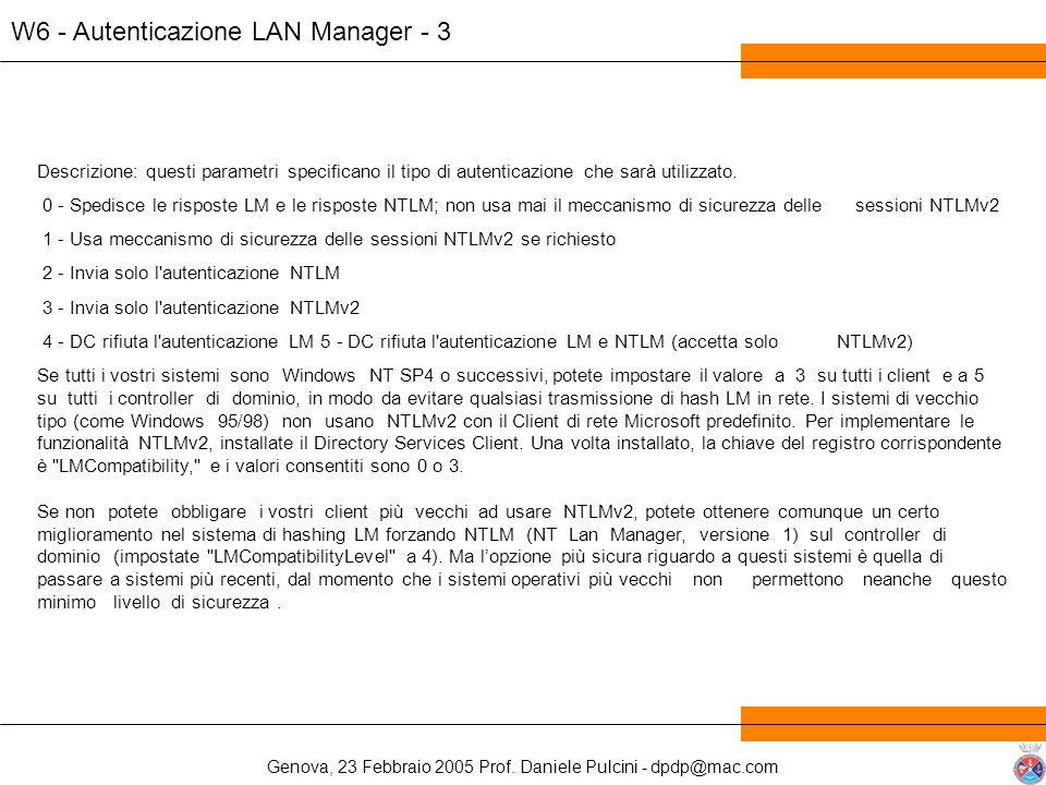 W6 - Autenticazione LAN Manager - 3