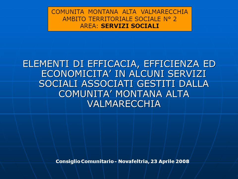 Consiglio Comunitario - Novafeltria, 23 Aprile 2008