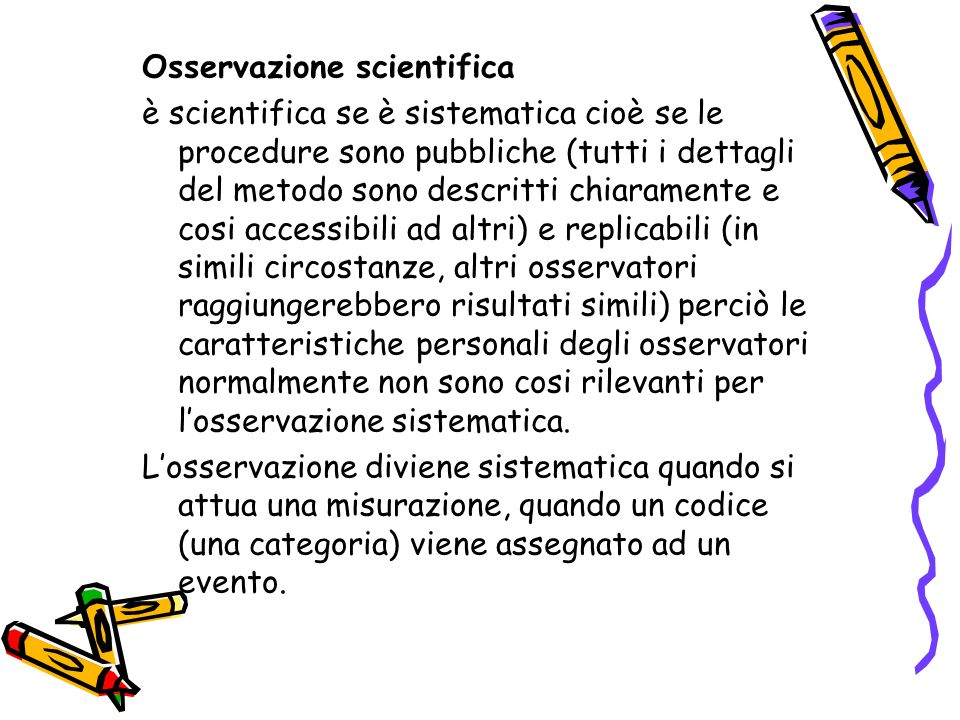 Osservazione scientifica