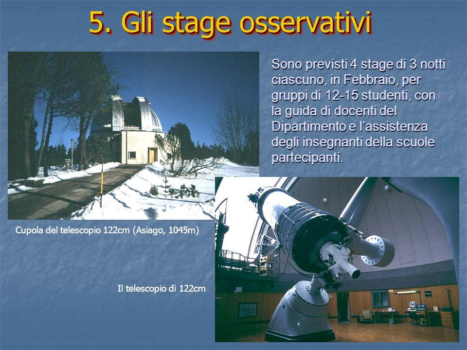 5. Gli stage osservativi