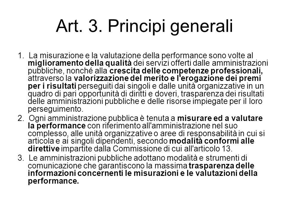 Art. 3. Principi generali