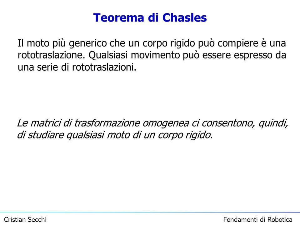 Teorema di Chasles