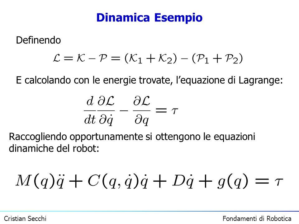 Dinamica Esempio Definendo