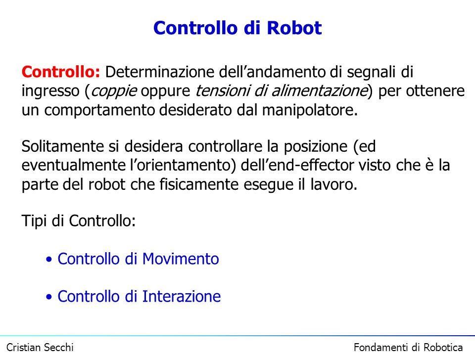 Controllo di Robot