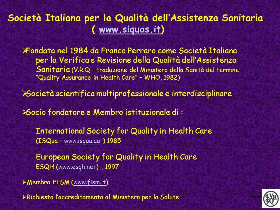 Società Italiana per la Qualità dell'Assistenza Sanitaria