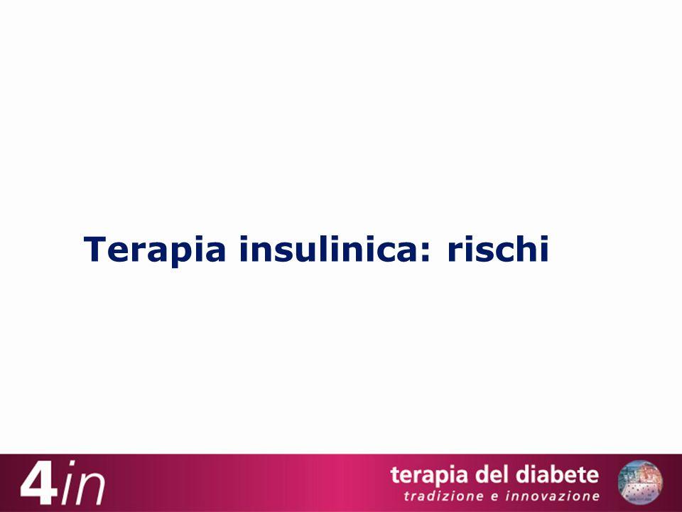 Terapia insulinica: rischi