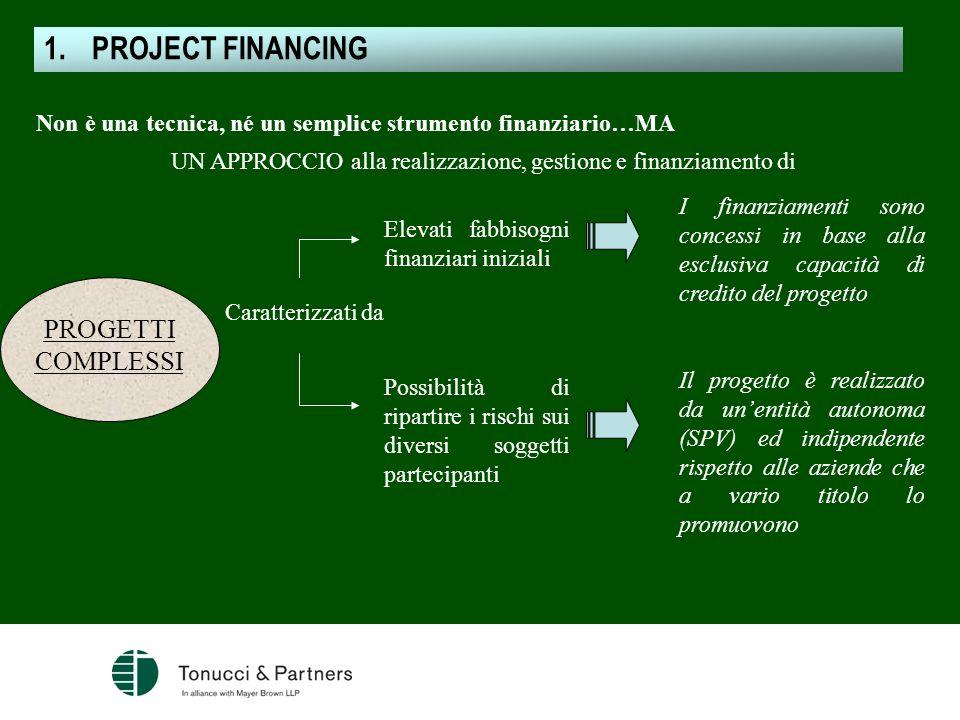 UN APPROCCIO alla realizzazione, gestione e finanziamento di
