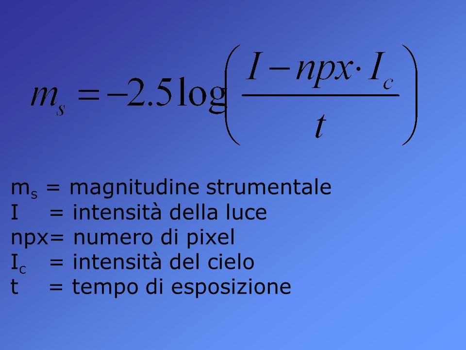 ms = magnitudine strumentale