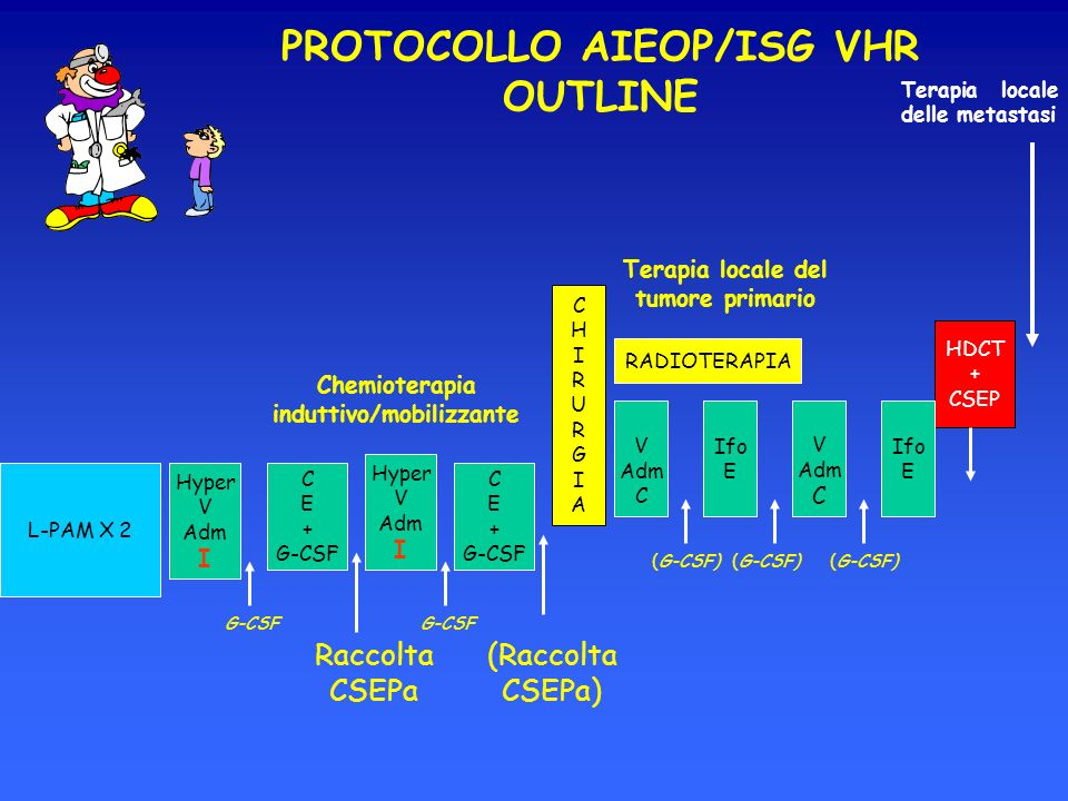 PROTOCOLLO AIEOP/ISG VHR OUTLINE