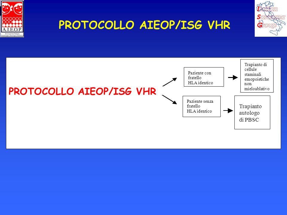 PROTOCOLLO AIEOP/ISG VHR