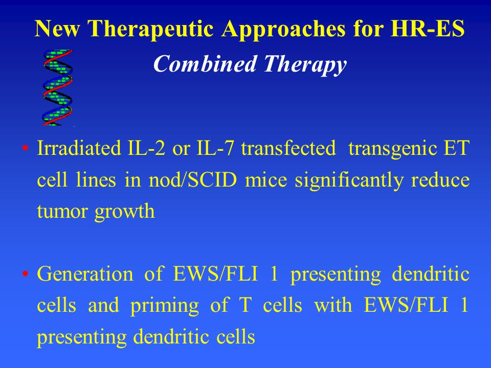 New Therapeutic Approaches for HR-ES Combined Therapy