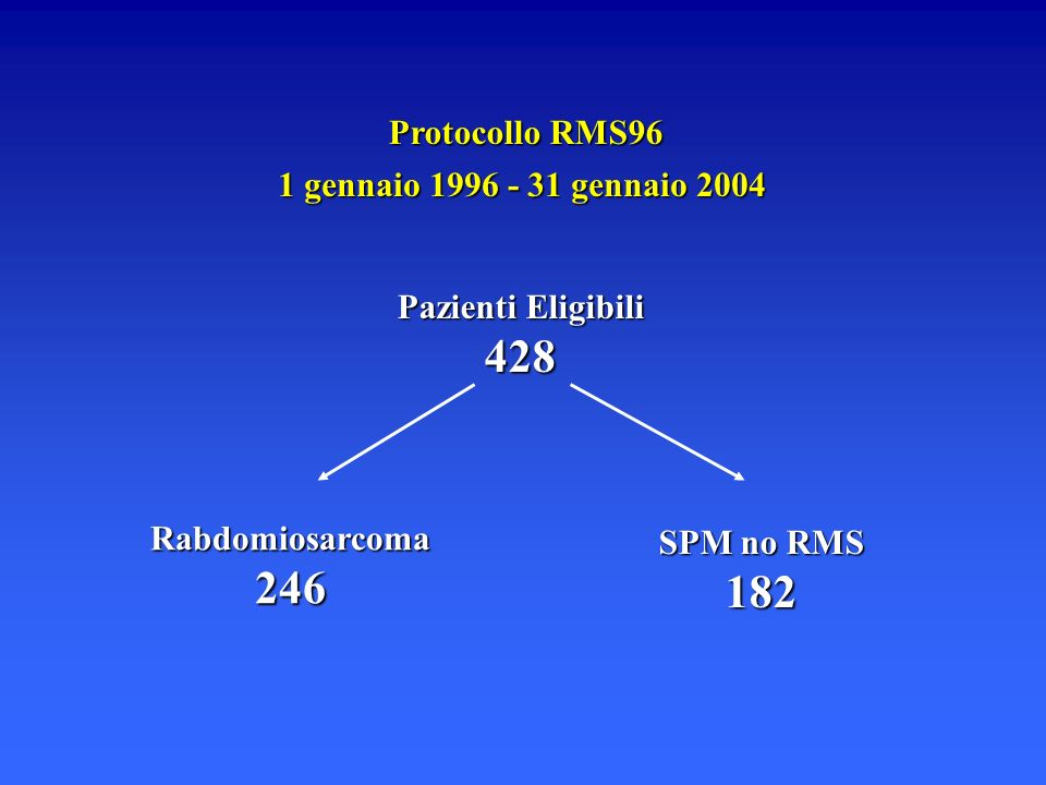 428 246 182 Protocollo RMS96 1 gennaio 1996 - 31 gennaio 2004