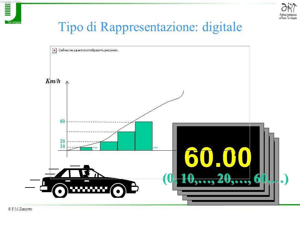Tipo di Rappresentazione: digitale