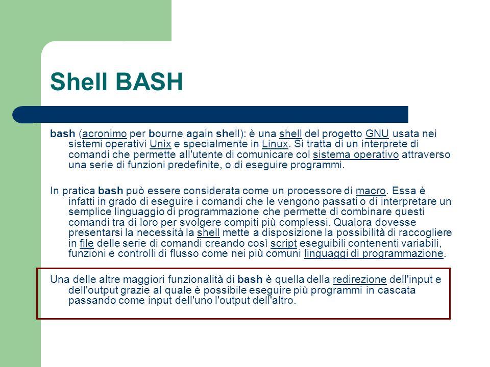 Shell BASH