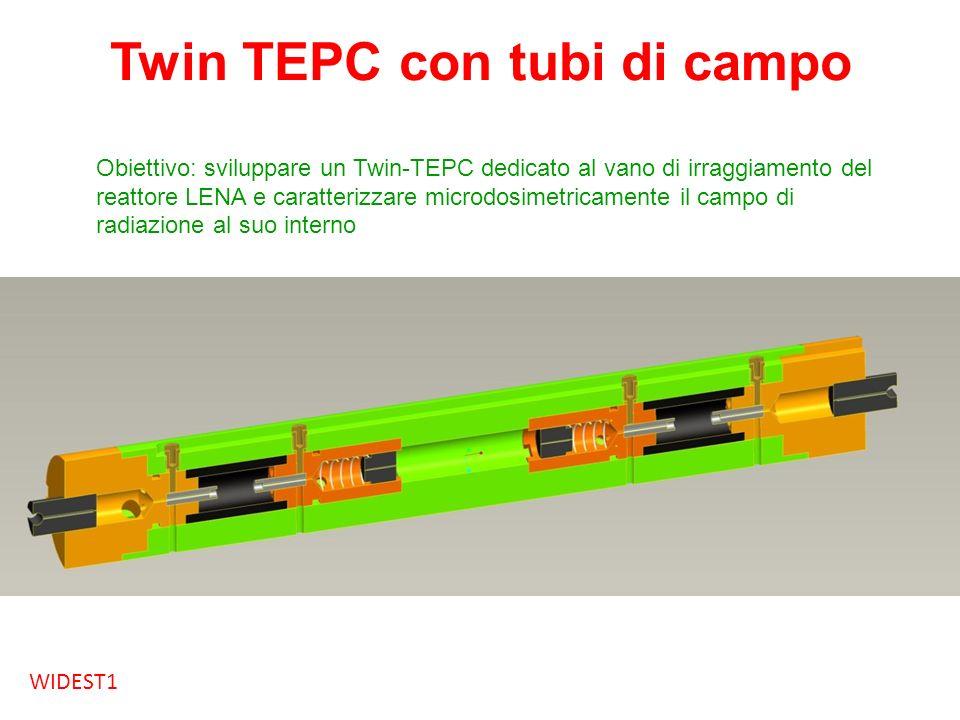 Twin TEPC con tubi di campo