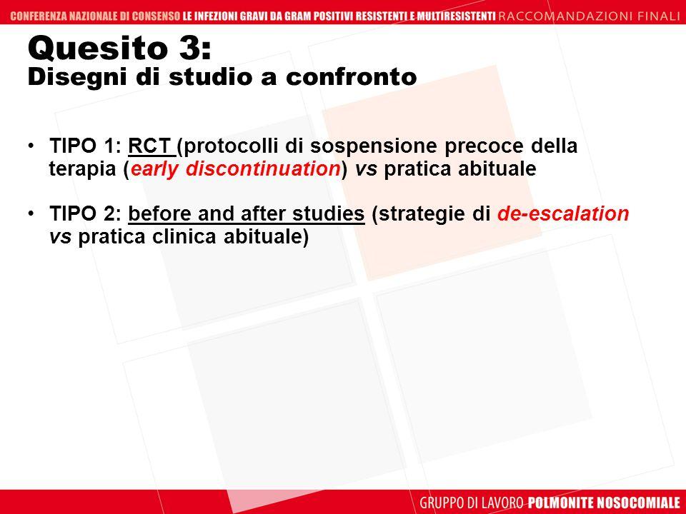 Quesito 3: Disegni di studio a confronto