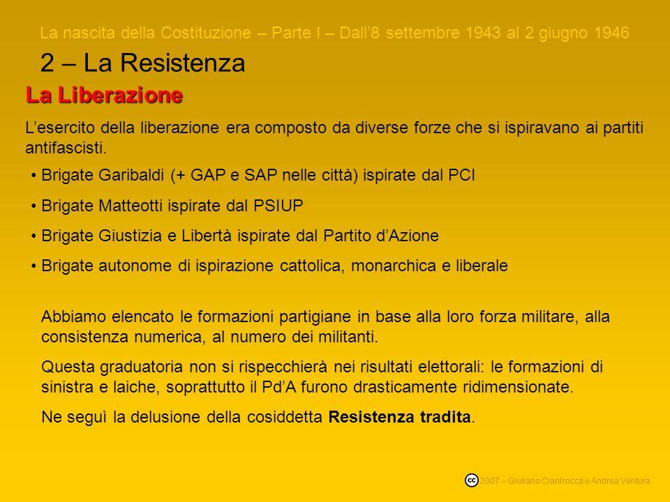2 – La Resistenza La Liberazione