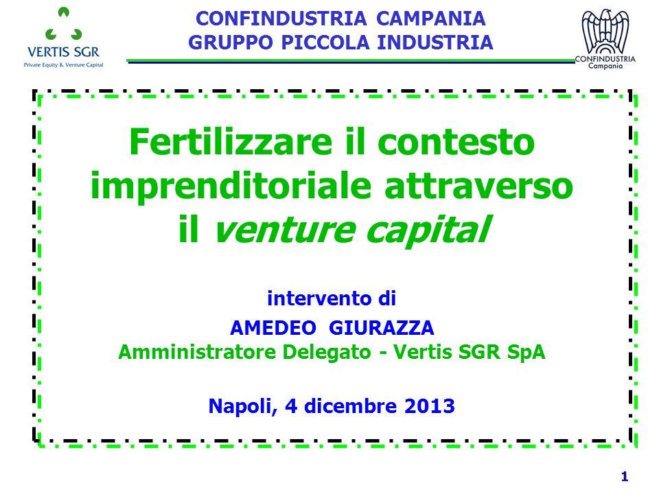 Fertilizzare il contesto imprenditoriale attraverso il venture capital