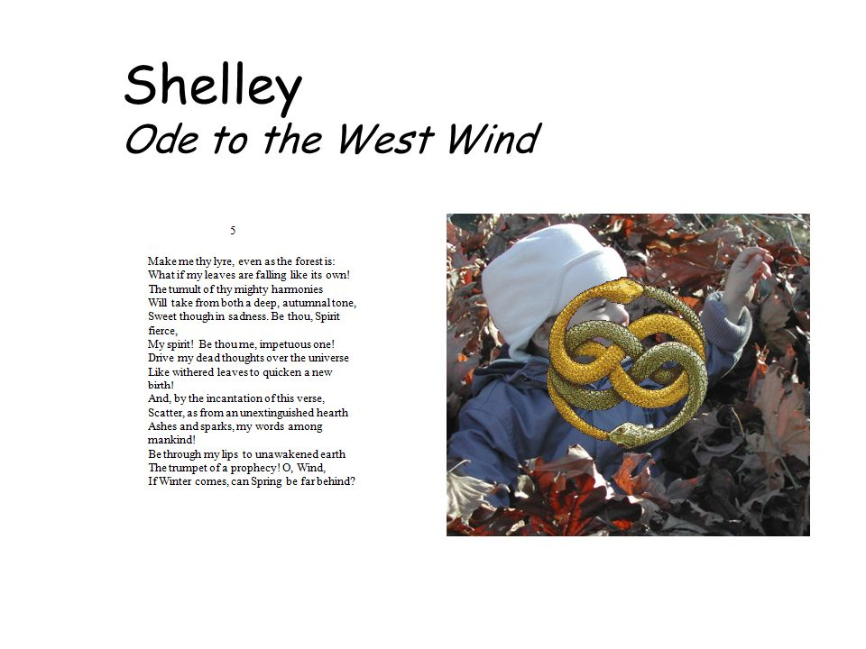 Shelley Ode to the West Wind
