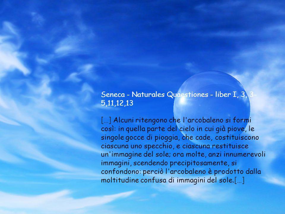 Seneca - Naturales Quaestiones - liber I, 3, 3-5,11,12,13