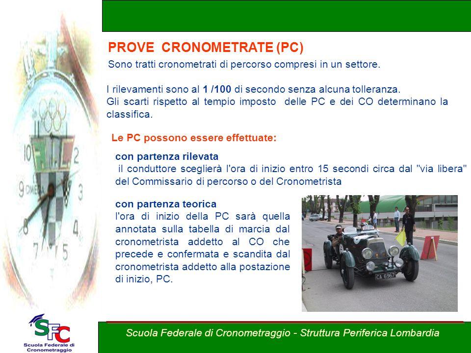 PROVE CRONOMETRATE (PC)