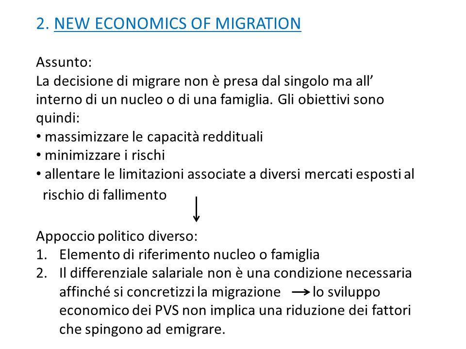 2. NEW ECONOMICS OF MIGRATION
