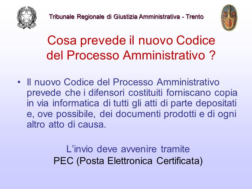 Cosa prevede il nuovo Codice del Processo Amministrativo