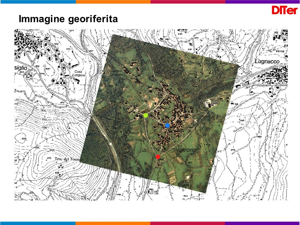 Immagine georiferita