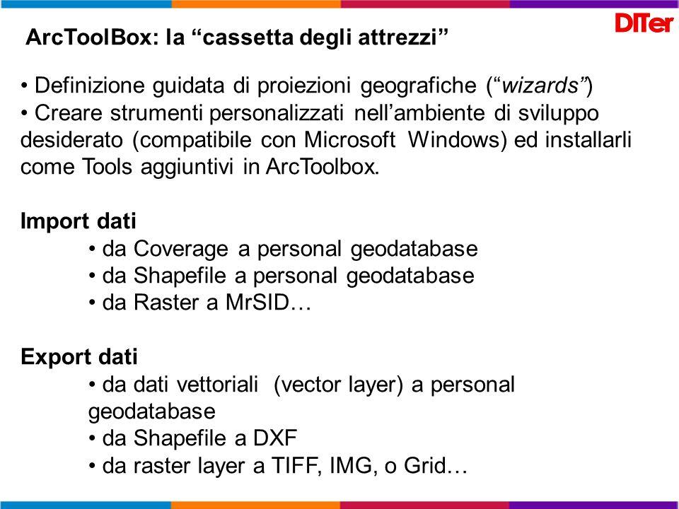 ArcToolBox: la cassetta degli attrezzi