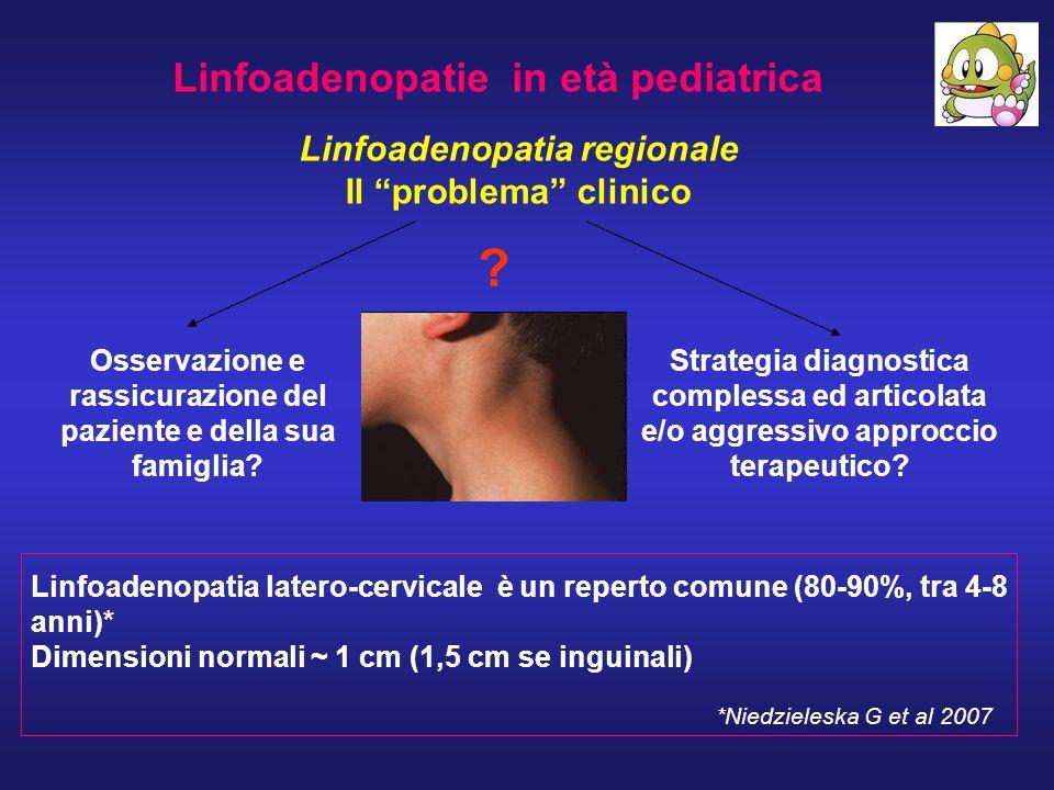 Linfoadenopatie in età pediatrica Linfoadenopatia regionale