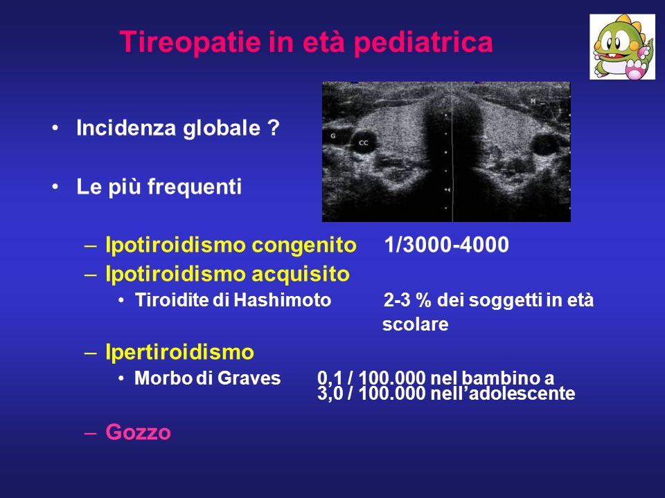 Tireopatie in età pediatrica