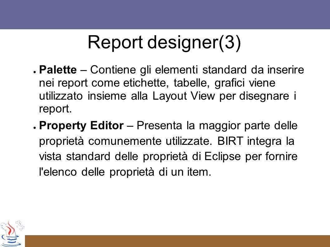 Report designer(3)