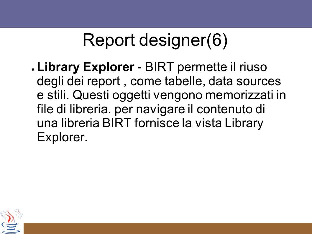 Report designer(6)