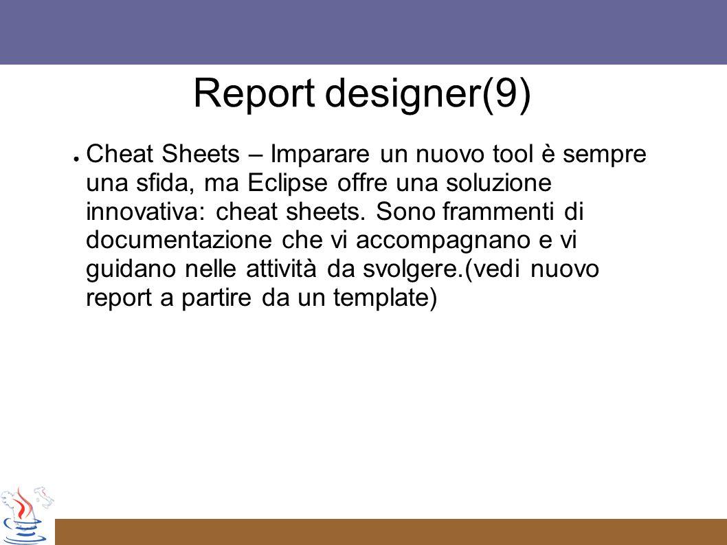 Report designer(9)