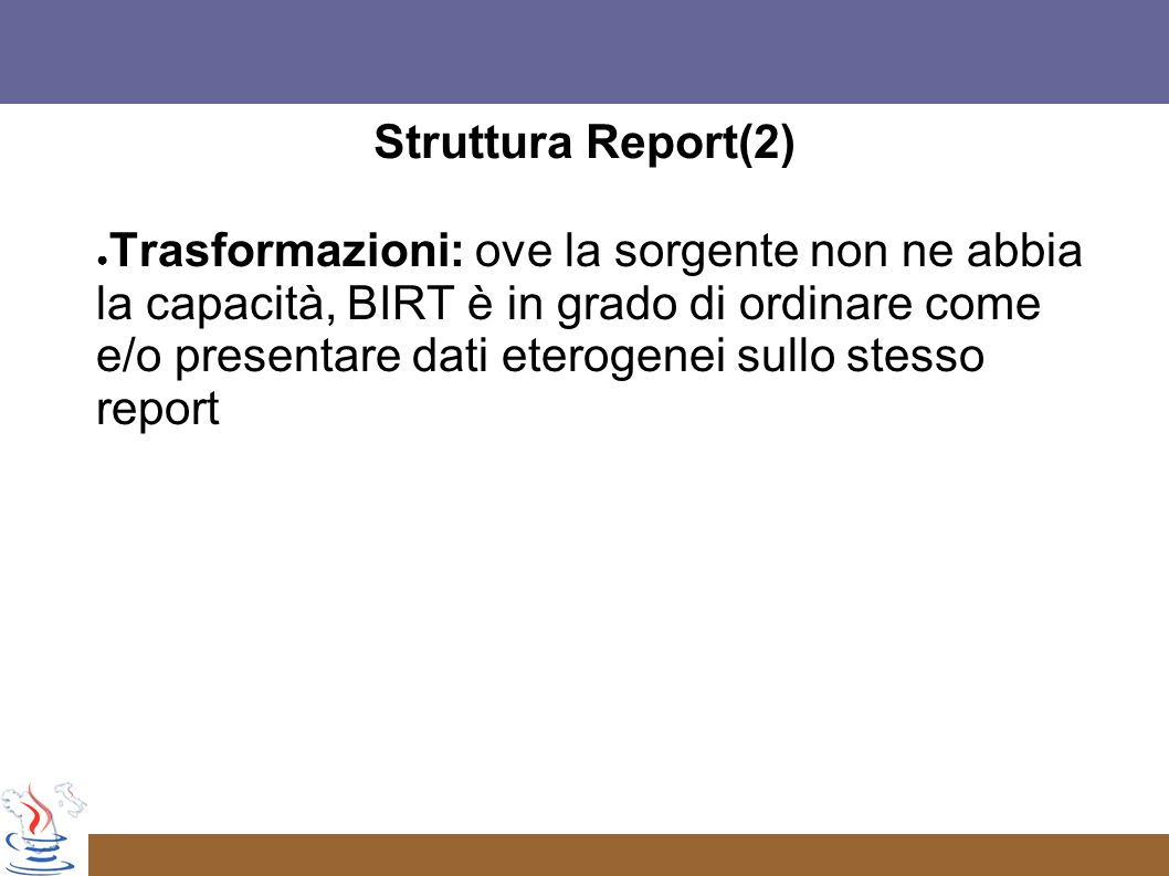 Struttura Report(2)
