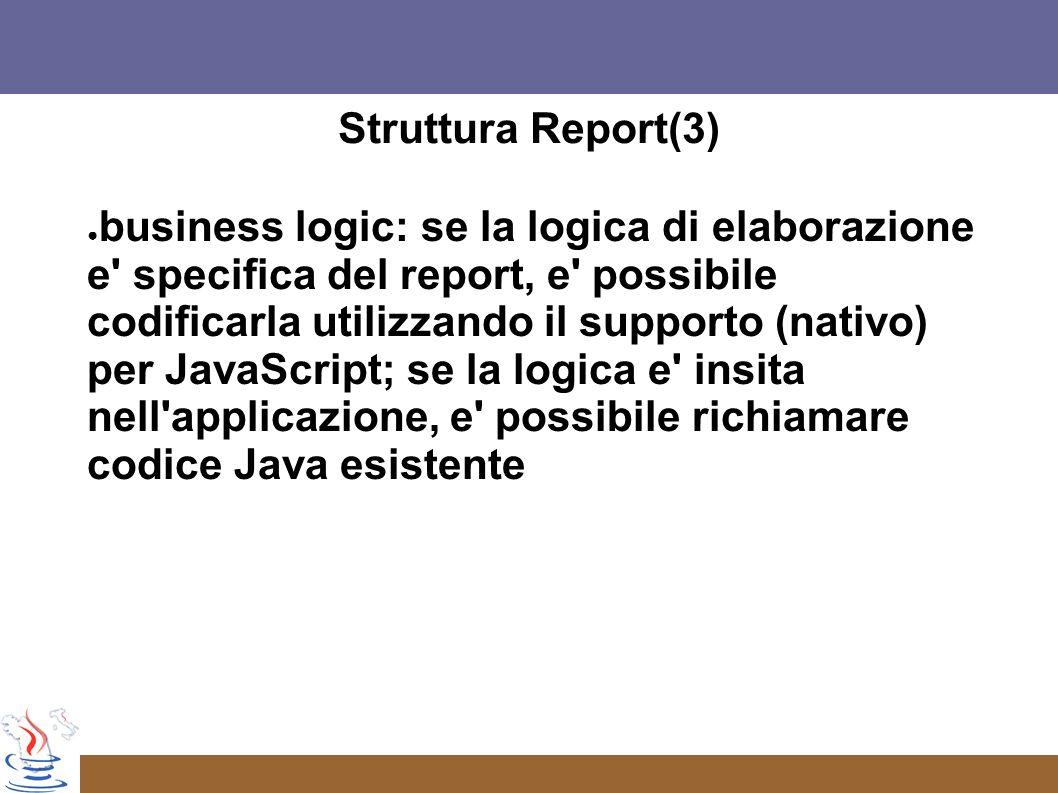 Struttura Report(3)