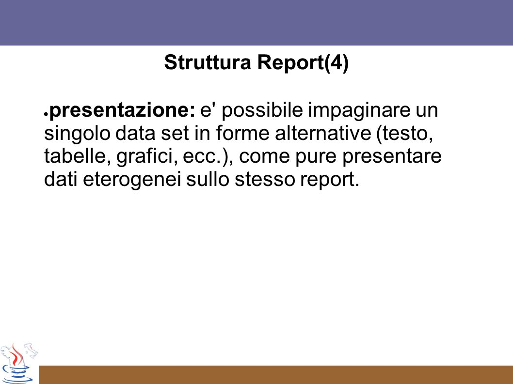 Struttura Report(4)