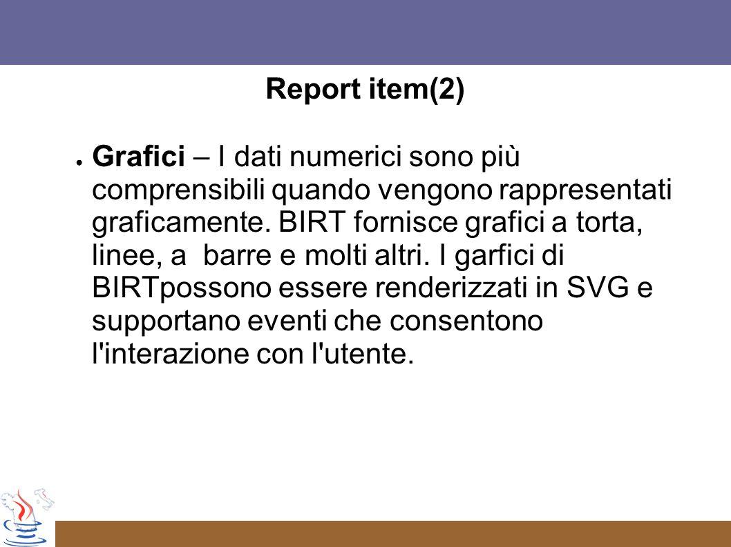 Report item(2)