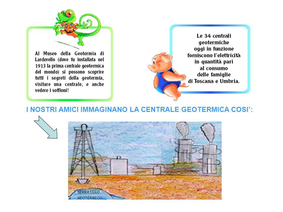 I NOSTRI AMICI IMMAGINANO LA CENTRALE GEOTERMICA COSI':