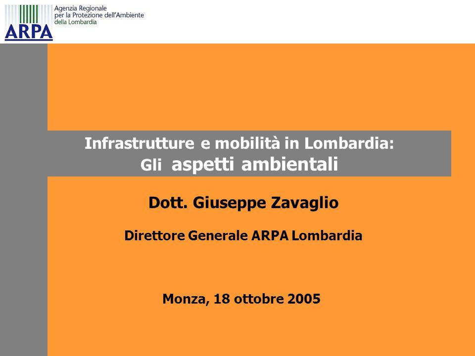 Infrastrutture e mobilità in Lombardia: Gli aspetti ambientali