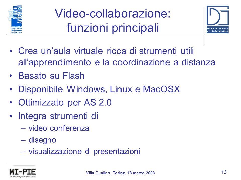 Video-collaborazione: funzioni principali