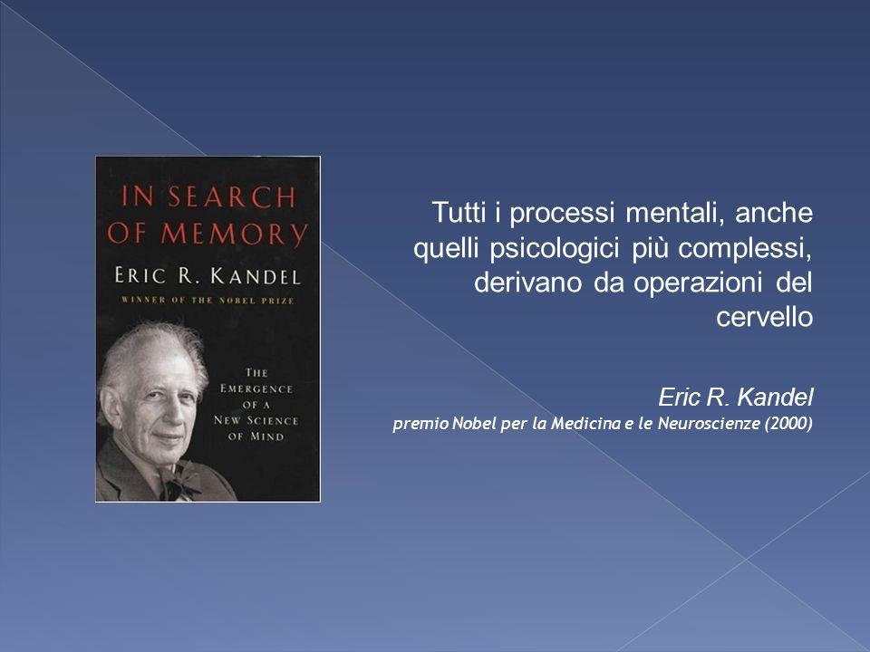 Tutti i processi mentali, anche quelli psicologici più complessi, derivano da operazioni del cervello
