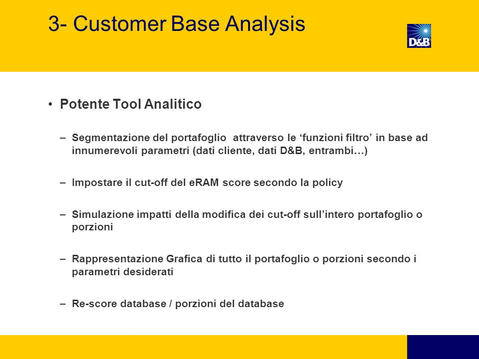 3- Customer Base Analysis