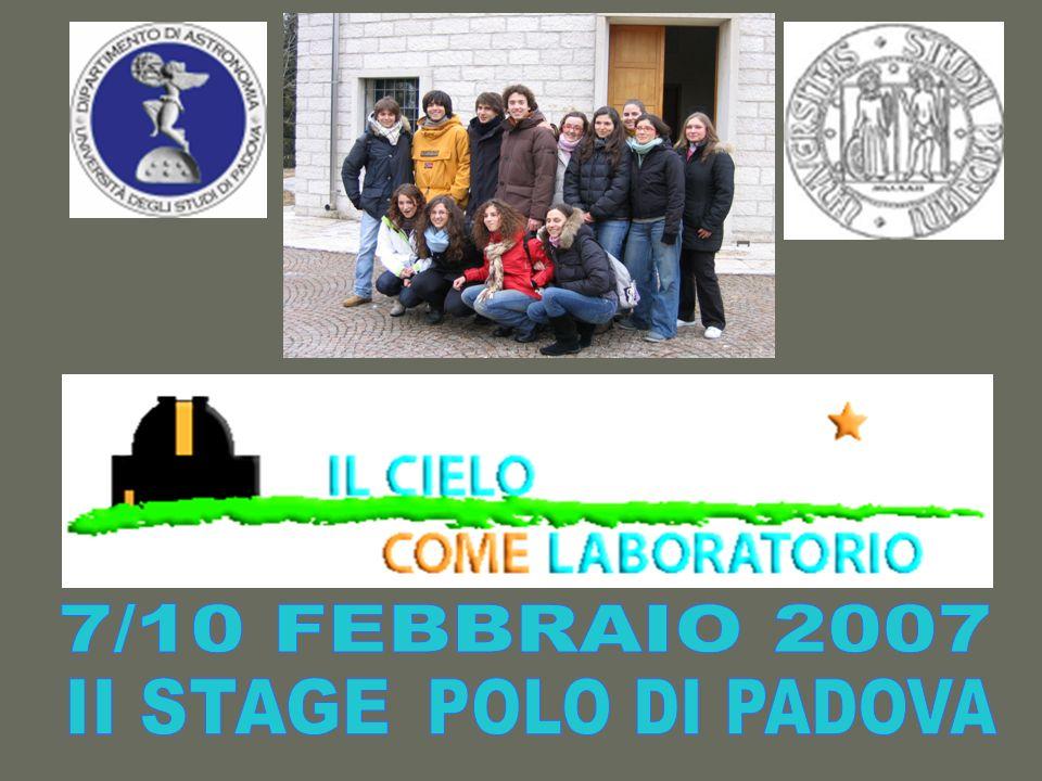 7/10 FEBBRAIO 2007 II STAGE POLO DI PADOVA