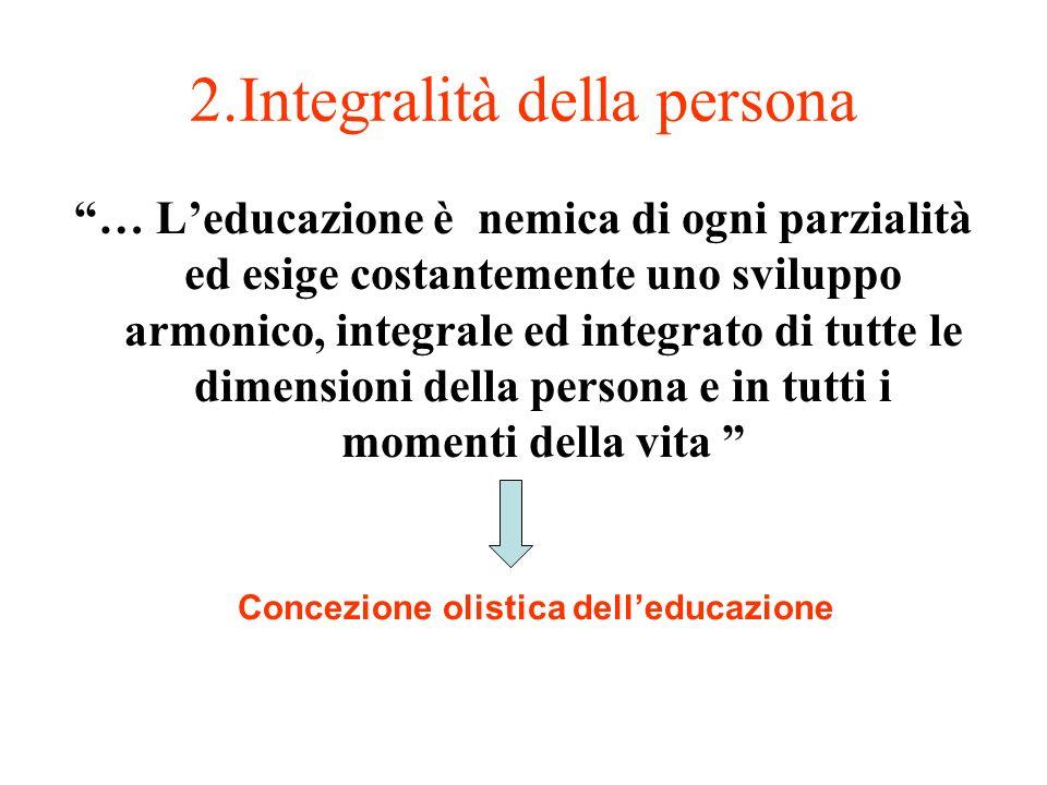 2.Integralità della persona