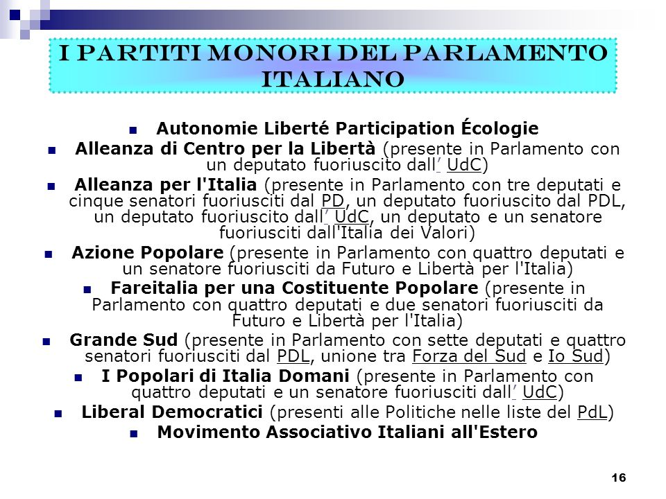 storia dei partiti politici in italia ppt video online